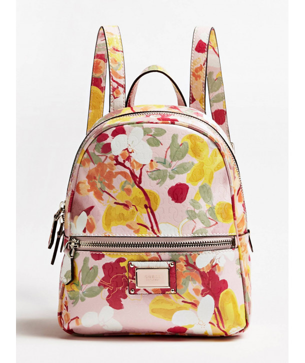 SHANNON FLORAL PRINT BACKPACK